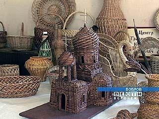 Открылся Межрегиональный фестиваль мастеров лозоплетения