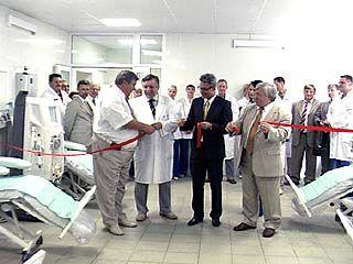 Открылся обновленный центр гемодиализа