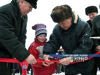 Открыт газопровод в селе Покровка