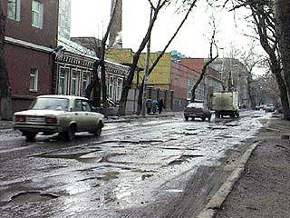 Открыт тендер на проведение ремонта дорог Воронежа