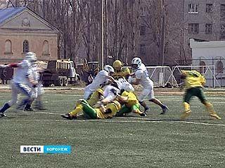 Открытие чемпионата России по американскому футболу впервые прошло в Воронеже