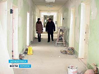 Открытие педиатрической больницы в Борисоглебске откладывается на неопределённый срок
