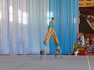 Открытое первенство области по акробатике финишировало в Воронеже