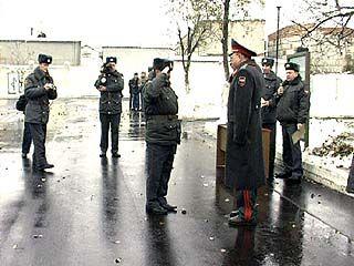 Отличившиеся сотрудники муниципального полка получили награды