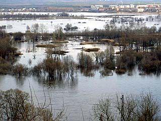 Ожидается резкий подъем воды в реках области
