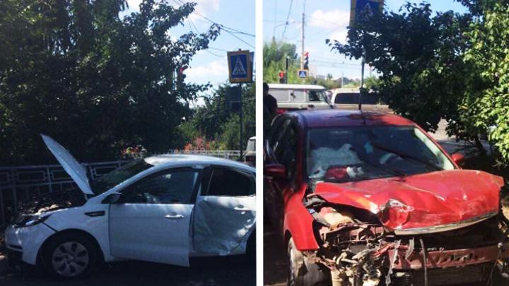 В Воронеже водитель Ford Focus попал под следствие за гибель в ДТП матери с младенцем