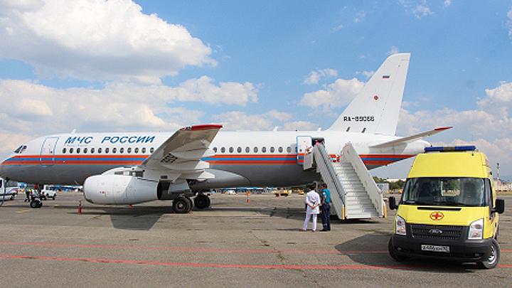 Самолёт МЧС доставил из Воронежской области в Петербург пострадавшую в ДТП девушку