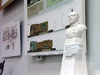 Памятник Лизюкову изготовят по проекту главного художника Воронежа