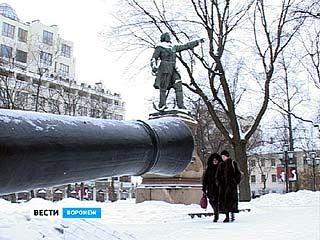 Памятник Петру Первому имеет высокое значение для Воронежской области
