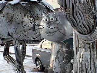 Памятнику котенку с улицы Лизюкова исполнилось 7 лет