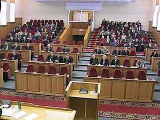 Парламентарии области соберутся на 20-е заседание