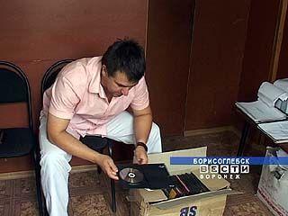 Партия контрафактных дисков изъята Борисоглебскими оперативниками