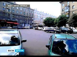Пассажиры воронежских троллейбусов вышли на борьбу с парковками