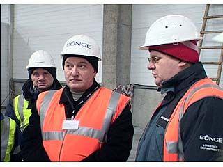 Павел Кораблев посетил перерабатывающий комплекс в Колодезном