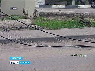 Павловск в очередной раз остался без света из-за изношенных сетей