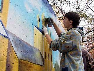 Педагогический университет поддержал проведение фестиваля граффити