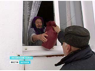 Пенсионерка из села Лискинское оказалась без выхода из собственного дома