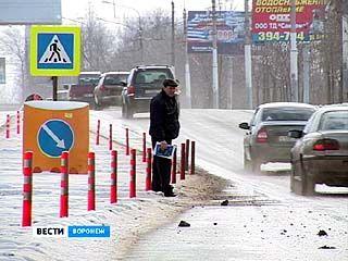Переход у Чижовского плацдарма оснастили островком безопасности