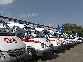 Первая партия машин скорой помощи поступила в область