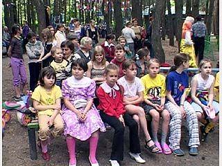 Первый день лета посвящён детям