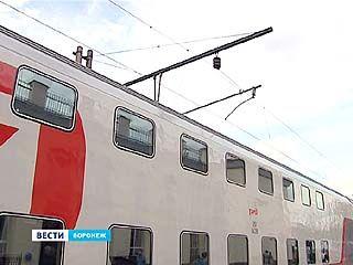 Первый двухэтажный поезд в Сочи через Воронеж отправляется завтра