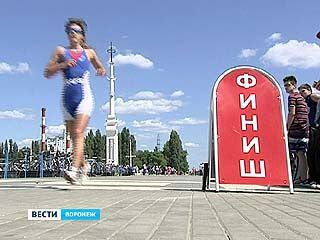 Первый этап Кубка России по триатлону проходит в Воронеже