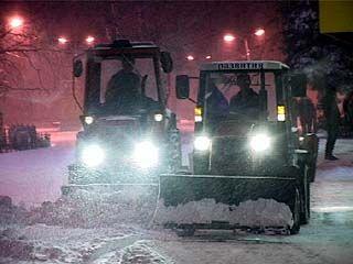 Первый снегопад накрыл Воронеж с головой