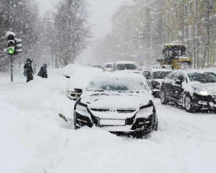 В Воронежской области ожидаются обильные снегопады, сильный ветер и гололедица