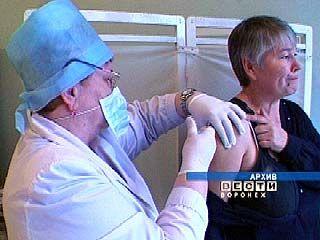 План иммунизации от гриппа в Воронежской области выполнен на четверть