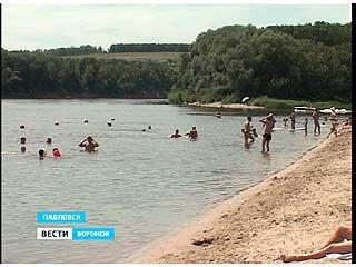 Пляж в центре Павловска остаётся неприспособленным даже после проверок
