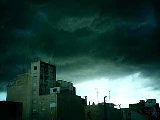 По области объявлено штормовое предупреждение