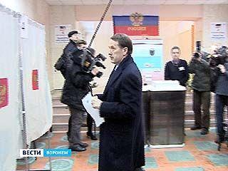 По оснащенности избирательных участков веб-камерами, Воронежский регион - в числе лидеров