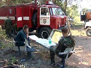 По всей территории Воронежской области введен 5 класс горимости