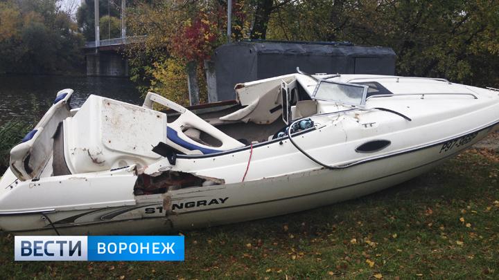Нарушили оба. Два человека стали обвиняемыми в столкновении катеров в водохранилище Воронежа