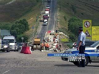 Почему ремонт дороги в Нижнедевицком районе затягивается?