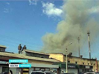 Почему загорелся завод в Борисоглебске? Первые версии пожарных