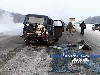 Под колесами УАЗика погибла жительница Таловой