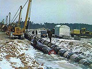 """Под Липецком произошел разрыв нефтепровода """"Дружба"""""""