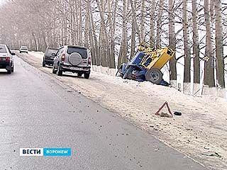 Поднимать автоподъемник пришлось в Лискинском районе