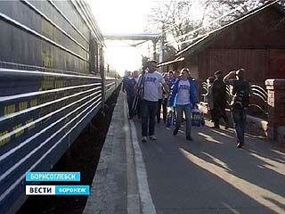 Поезд от партии ЛДПР сделал остановку в Воронежской области