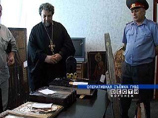 Похищенные иконы вернулись в Свято-Никольский монастырь