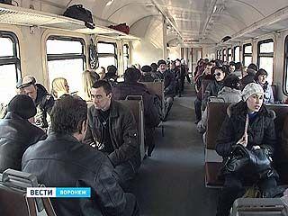 Пока уехать из Воронежа в Курск на электричке не получится