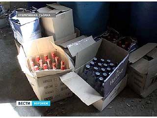 Полицейские накрыли очередную партию контрафактного алкоголя