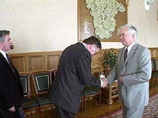 Полномочный посол Чехии Ярослав Башта прибыл в Воронеж