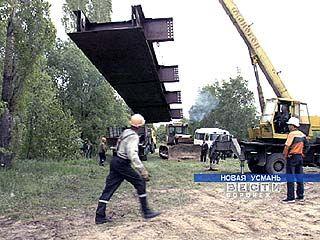 Понтонный мост обеспечит транспортное сообщение в Новой Усмани