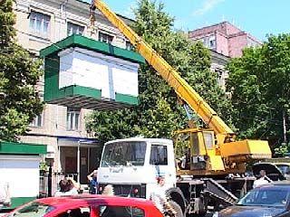 Постановление о сносе киосков в центре Воронежа признано незаконным