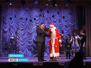 Поверить в новогоднее чудо смогли маленькие жители Воробьёвки