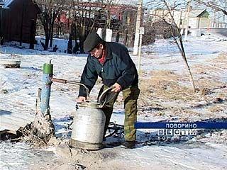 Поворинцы в Новогоднюю ночь остались без воды
