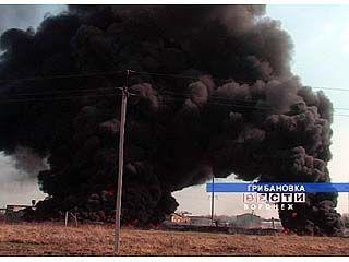 Пожар стал обычным явлением для грибановцев
