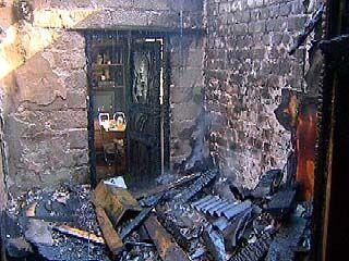 Пожар в Грибановском районе: погибли два человека